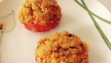 pomodoro grate'con panatura quinoa