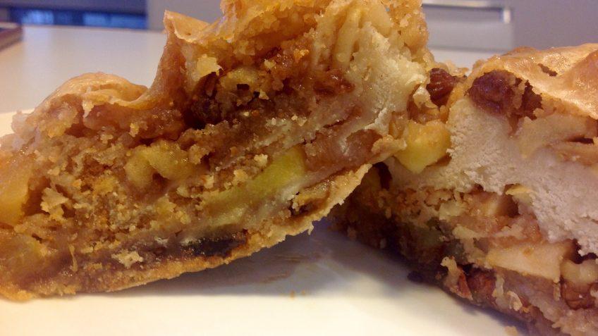strudel di castagne e mele