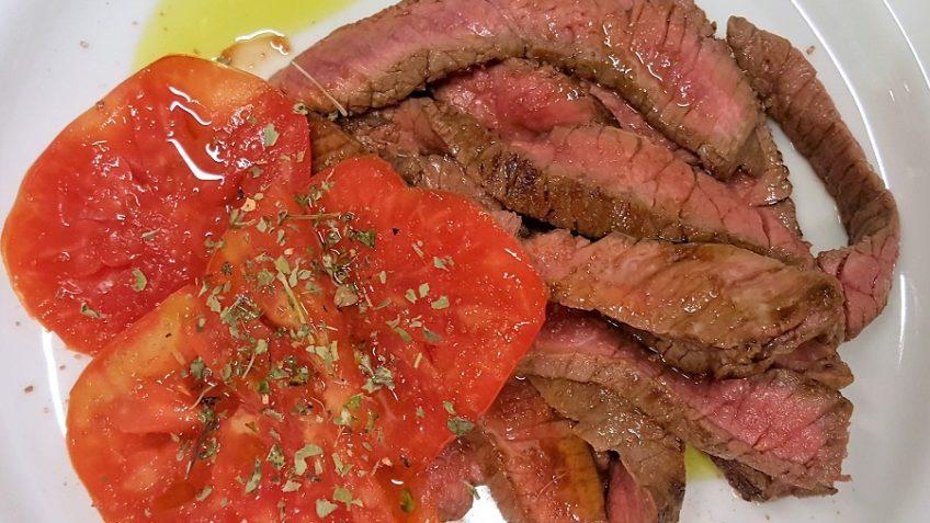 Tagliata di manzo ricette dieta gruppo sanguigno for Vero cibo e il tuo corpo testo