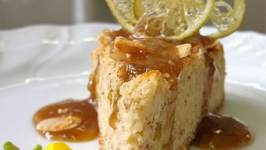 torta di mandorle e ricotta al lime 2