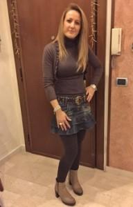 Rita in una recente immagine dopo la dieta