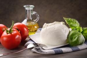 dieta del gruppo sanguigno ab Mozzarella