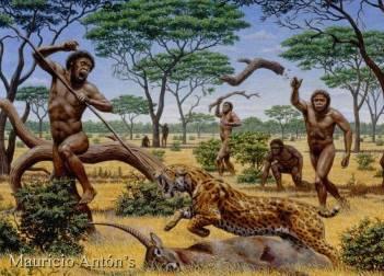 Homo Erectus vissuto circa due milioni di anni fa.