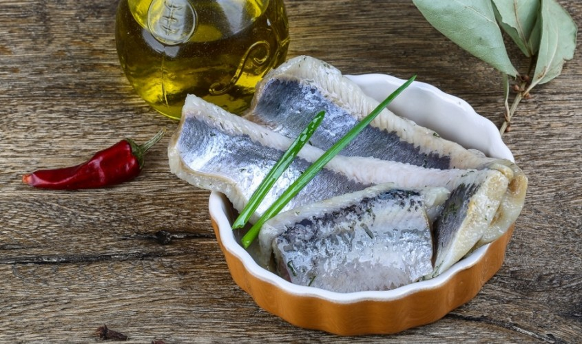 Herring fillet