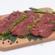 Fette di carne di equino