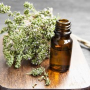 Thyme Essential Oil Bottle