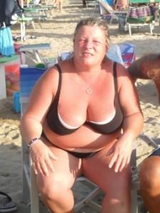 Anna quando pesava 98 kg