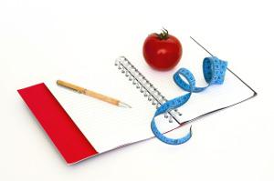 Diario alimentare per scrivere la dieta