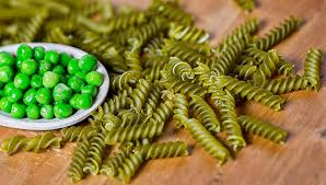 Possiamo trovare i legumi in molti tipi di pasta ( Pasta di piselli, ceci. ecc)