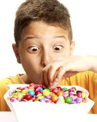 Le caramelle possono contenere amido di mais.